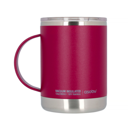 Asobu Ultimate Coffee Mug Burgundowy 360ml - Kubek termiczny
