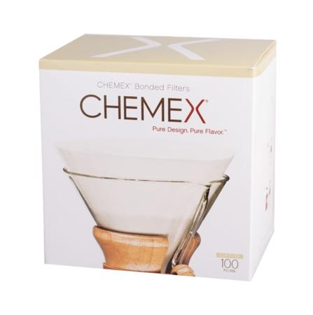 Chemex filtry papierowe okrągłe 6, 8, 10 filiżanek- 100 szt