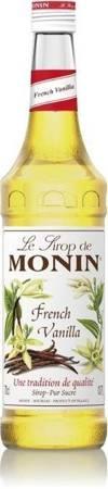 Syrop do kawy MONIN FRENCH VANILLA 0,7 L - waniliowy