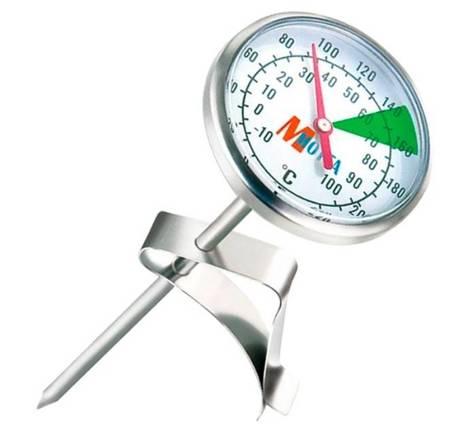 Termometr do spieniania mleka Motta 14cm - Analogowy